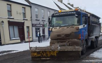 Storm Emma hit Laois roads being cleared but some hazardous says Laois County Council