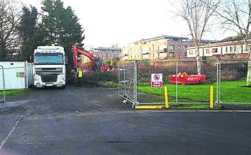 Traffic delays and roadworks continue on busy Laois road at construction site