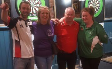 Borris-in-Ossory darts tournament a big success for womens walking group charity