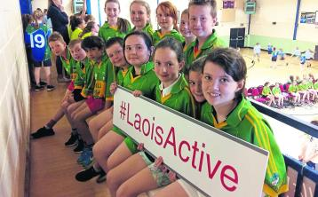 Basketball hoop dreams come true in Portlaoise at Laois Sports Partnership finals