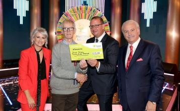 Lucky Laois man on new format of the National Lottery Winning Streak show on RTE One