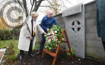 World War I memorial unveiled in Mountrath Peace Garden on Armistice centenary