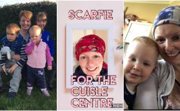 Laois mother battling cancer holds online fundraiser for Cuisle Centre