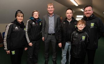 Portlaoise AFC land deal rubberstamped by new Irish U-21 boss Stephen Kenny and John Delaney
