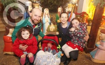 PICTURES: Huge crowd for popular Portlaoise Blessing of Babies service