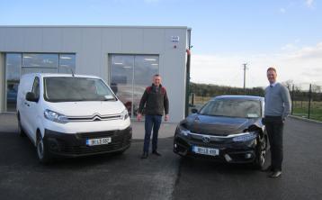 Padraig Clancy leads the Citroen charge at John Adams Car Sales