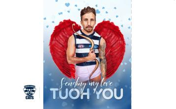 Valentines Day love for Laois Aussie Rules football star