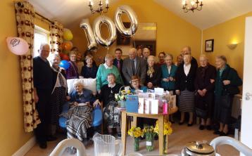 Laois 100th birthday Muriel Percy Australia