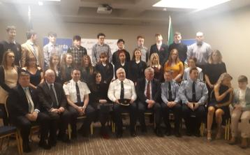 Hugely success Laois Offaly Garda Youth Awards take place in the Killeshin Hotel