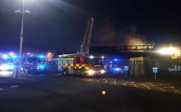 train fire portarlington