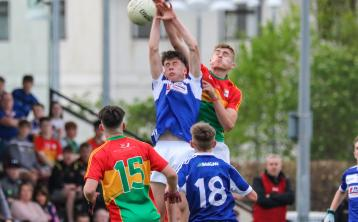 Last gasp Whelan free salvages draw for Laois Minors against Carlow