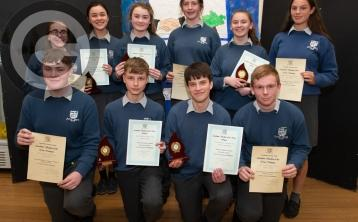 PICTURES: Celebrations for Mountmellick Community School awards night
