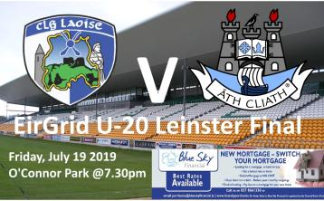 LIVE BLOG: Laois v Dublin U-20 Leinster Football final