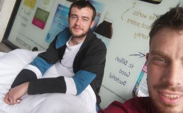 UPDATE: Over €2,000 raised, job offer and place to live for young homeless man in Laois