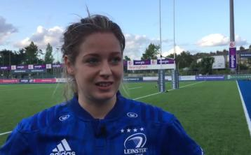 WATCH: Laois woman Grace Miller reflects on try-scoring debut for Leinster Rugby
