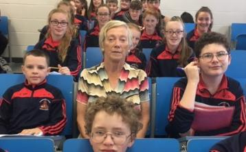 Mountrath students visited by beloved Irish ecologist