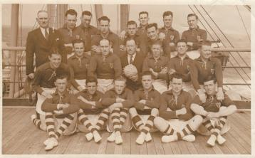Book detailing the Laois footballers triumphant tour of the USA in 1938 set to be launched