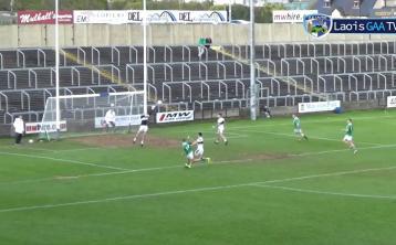 WATCH: Evan Lowry's wonder goal for Killeshin against Portlaoise in the Laois SFC final