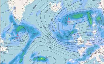 UPDATE Met Éireann warns Storm Atiyah expected to hit earlier than forecasted