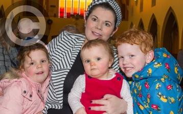 Blessing of babies annual service in Portlaoise parish church - in pictures