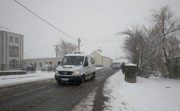 snow met éireann weather warning