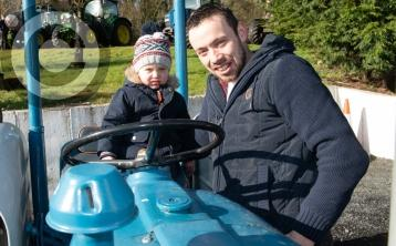 Tractor run in aid of Mountmellick primary school - in pictures