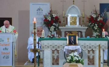 LISTEN Homily at the funeral Mass in Ballinakill of the late Laois county councillor Marty Rohan