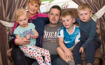 Fight goes on for Laois toddler and her family