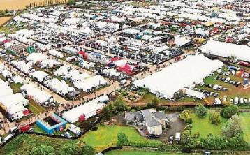 Exhibitor space filling for Ploughing