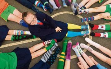 Laois based group wants everyone in stripy socks for World Down Syndrome Day
