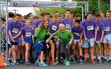 A Laois secondary school is calling on all to join in a virtual 5km run