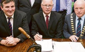 Contract for new round of Leader funding is signed