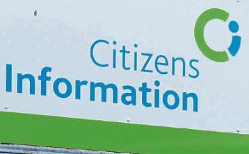 Citizens information at food kitchen in Graiguecullen for Laois and Carlow
