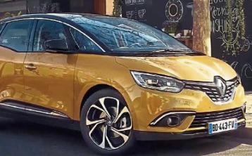 Renault's new Megane Grand Coupe, Scenic and Grand Scenic. Road Tested by Hugh Maguire.