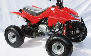 Parents urged not to give children quad bikes or scramblers for Christmas