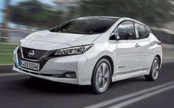 Welcome to the pure electric new Nissan LEAF