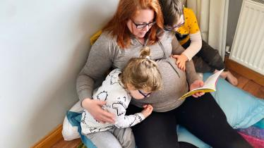 PHOTOS: A special delivery for Laois fertility blogger Jen Ryan