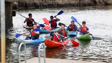 LAOIS GAA stars get behind the new Laois Blueway in pictures