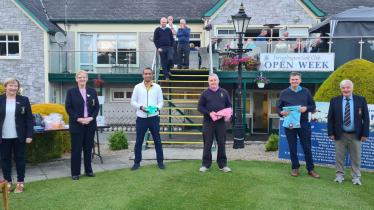 IN PICTURES: Winners galore at Portarlington Golf club open week