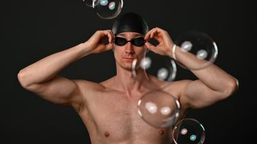 Stunning pictures of honorary son of Laois Shane Ryan in Swim Ireland's Team Tokyo Olympics announcement