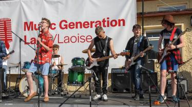 PHOTOS Laois kids rocked and popped as the sun baked the stones