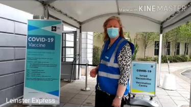 WATCH: Video tour of Laois Covid-19 community vaccination centre