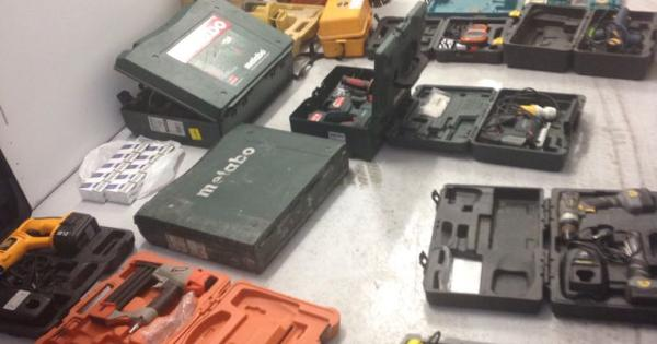 Gardai recover huge amount of stolen power tools at Laois checkpoint