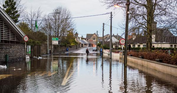 UPDATE: Concern for flooding in Mountmellick, Laois as river