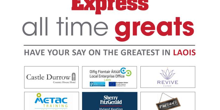 Laois' All Time Great: We have a winner!