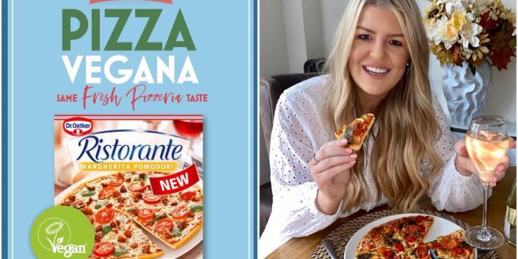 Dr. Oetker launches its first Ristorante vegan pizza in Irish supermarkets