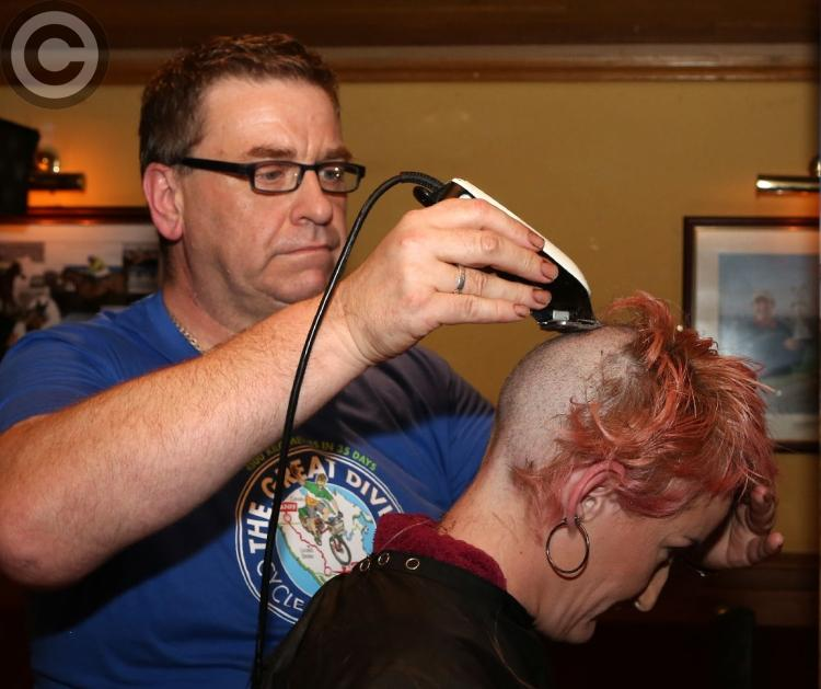 Headshave For Laois Hospice In Portarlington Photo 1 Of