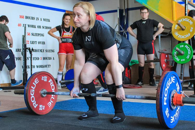 Olympic-Style powerlifting event held at Pearson's Gym in Portlaoise