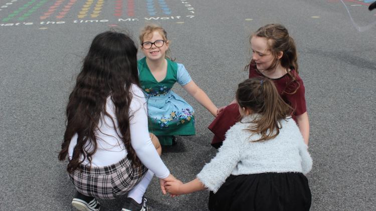 Two Laois schools help create Irish singer's new music video