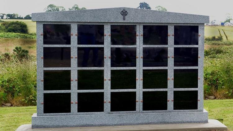 Image of a columbarium wall, by Navan Memorials